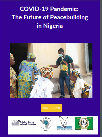 Book Cover: COVID-19 Pandemic: The Future of Peacebuilding in Nigeria