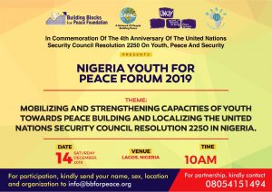 NIGERIA YOUTH FOR PEACE FORU